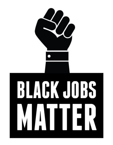 Black Jobs Matter logo